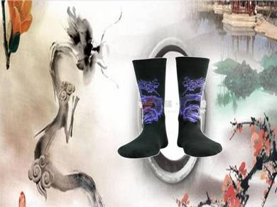 Socks (Thick/Dragon/Purple)