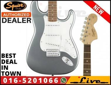 Squier Affinity Stratocaster Electric Guitar Silve
