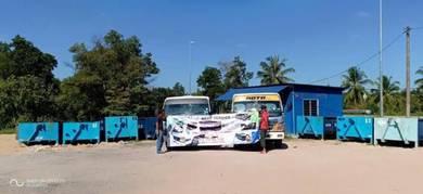Tong sampah Roro untuk disewa (Kuantan, Pekan PHG)