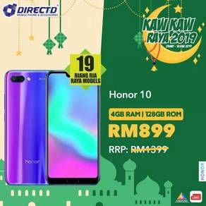 Honor 10 (4GB RAM | 128GB ROM)JUALAN RAYA 2019