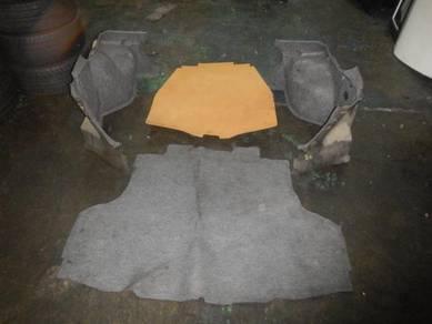Evo 9 Rear Trunk Cover Set Evo 7 Evo 8