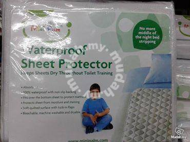 Alas Pelapik kencing sheet Protector