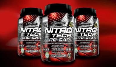 Muscletech nitrotech zero carb
