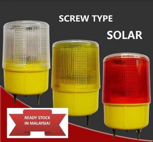 1PCS Traffic Warning Light SolarSignal Beacon lamp