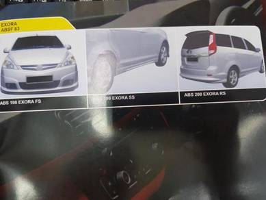 Proton Exora Abs bodykit without painting