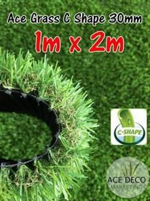Artificial Grass / Rumput Tiruan C-Shape (1m x 2m)