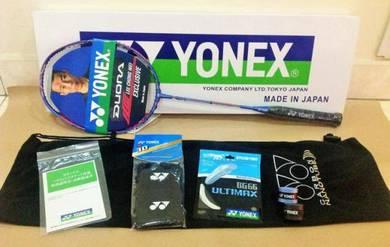 7in1 Package Yonex Duora 10 LCW SP 30lbs Frosty