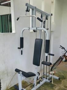 Multi purpose exercise weight machine