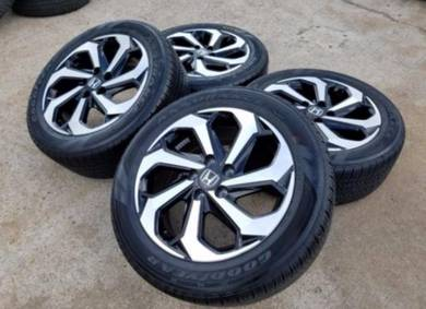 Honda Accord Sports Rim With Tyres 2019