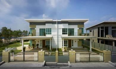 Semi D Concept[4Bed 4Bath] Freehold 2Storey 24x85 Superlink Resort