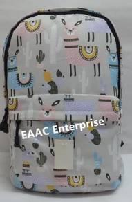 Big Pony Beige Primary Secondary School Bag Backpa