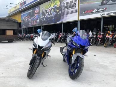 New yamaha r25 r15 ninja250 johor paling offer
