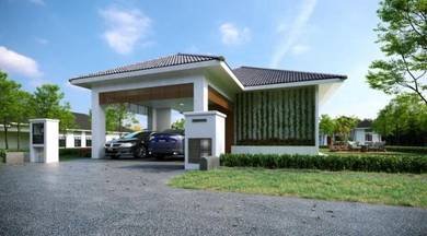 Guarded High End Surrounding Comfort 1 Storey Bungalow Ayer Keroh
