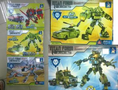 Lego 3 Robot Set Kids Toy (Robot 3 Units )