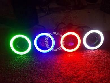 Universal 3inch led fog lamp fog light with ring