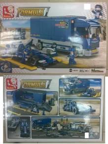 Kids Toy Lego Formula One(Mainan FOrmula Kereta )
