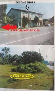 Commercial Land Face Main Road Temoh Kampar