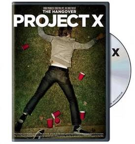 DVD English Movie Project X (DVD)