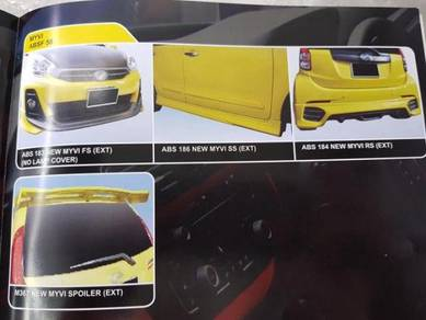 Perodua Myvi Abs bodykit without painting