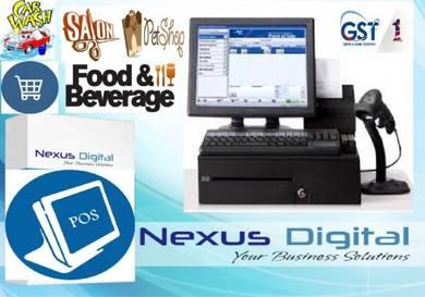 Cashier system easy use pos butik* fnb* mini mart
