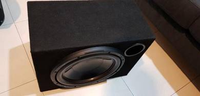 12'' Woofer and Enclosure