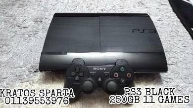 Ps3 s.s 11 games black edition
