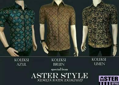 Koleksi Kemeja Batik ASTER STYLE