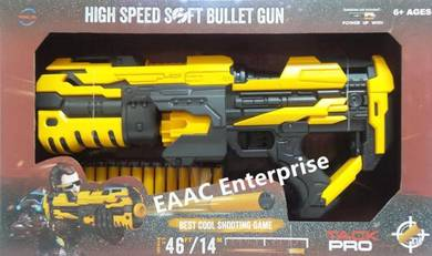 High Speed Soft Bullets Shooting Gun Free 14 Darts