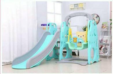 Playground 3in1 cartoon kitty dan rilakkuma