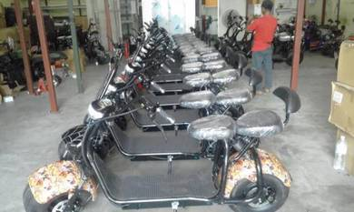 Harley Electric Scooter (kepong )Electric Bicyc