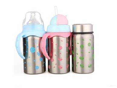 AngelBaby Stainless Steel Baby Thermal Bottle 220