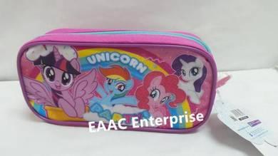 Cute Big Canvas Pony Unicorn Pencil Box Pencil Cas