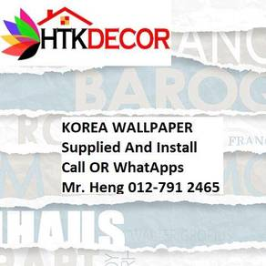 PVC Vinyl Wall paper with Expert Install 67DE