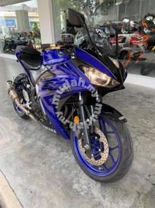Yamaha yzf-r25 yzfr25 yzfr r25 r 25 2018