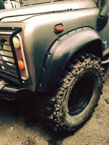 LAND ROVER DEFENDER WHEEL ARCHES EXTRA WIDE 110mm