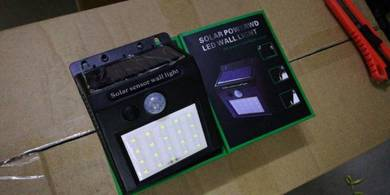 20 LED Solar PIR Motion Sensor Wall Light - Raya
