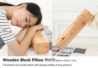 Wooden Block Pillow