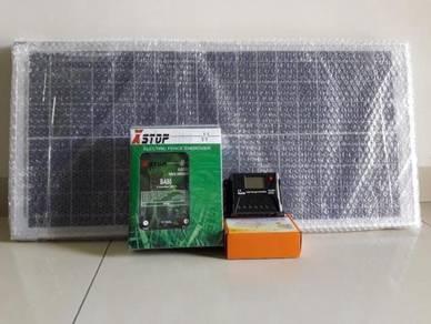 10KM Pagar Elektrik Solar / Solar Electric Fence