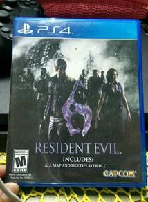 Resident Evil 6 (PS4)(R ALL)(USED)