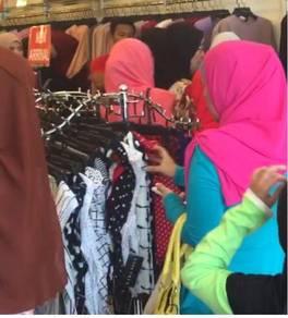 Butik fesyen bangi sentral