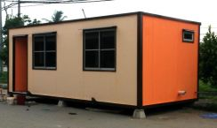 CABIN CONTAINER ( 100% Insulated )
