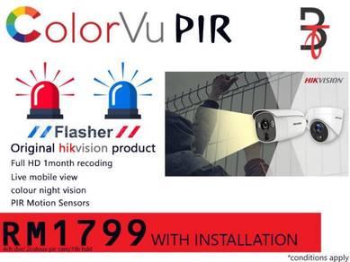 ORI Hikvision PIR, Siren CCTV Solution