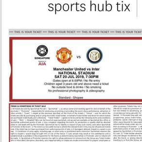 Manchester united vs intermilan