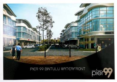 Pier 99 - 3 Storey Shophouse at Bintulu Waterfront