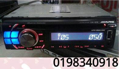 Car cd alpine cde-121e usb cd-r/-rw/mp3/wma/aac