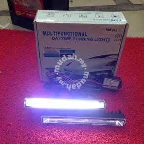 Universal drl led daylight cob light bar daylight