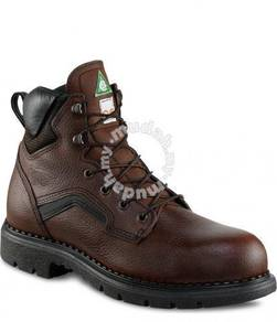 Safety Shoe Red Wing Men 6Inch Brown PR EH ST 3526