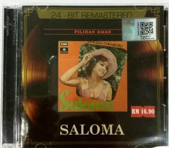 CD SALOMA Pilihan Emas 24 Bit Remastered