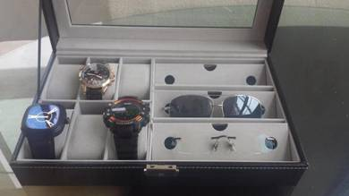 Luxury Watch & SunGlass Display Box