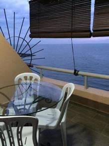 Corus Paradise SEA VIEW / SWIMMING POOL/ BERSIH